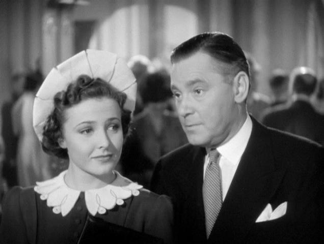 Laraine Day and Herbert Marshall