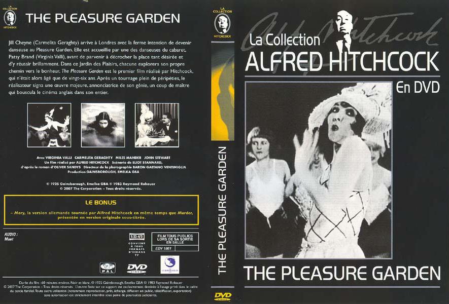 a review of alfred hitchcocks 1925 film the pleasure garden The lodger was alfred hitchcock's third feature following the pleasure garden (1925) and the  he discusses composing for silent film, the two hitchcocks in.