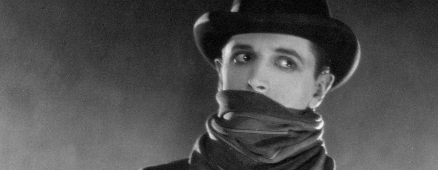 "Ivor Novello in ""The Lodger"""