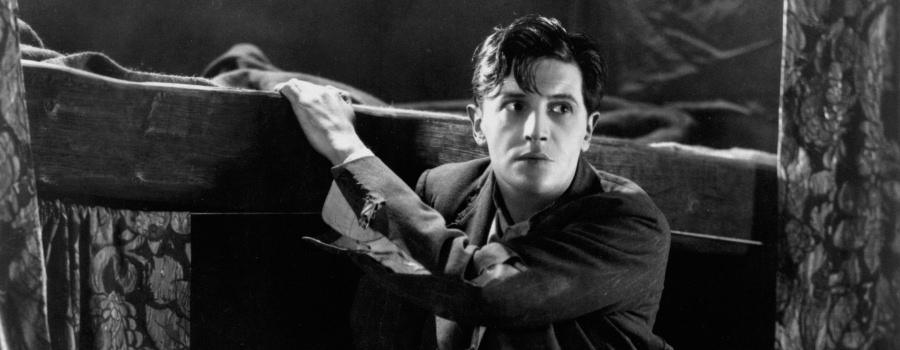 "Ivor Novello in ""Downhill"""