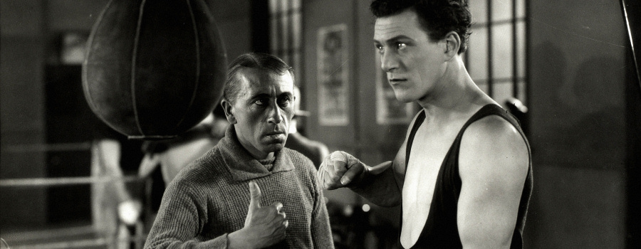 "Gordon Harker and Carl Brisson in ""The Ring"""