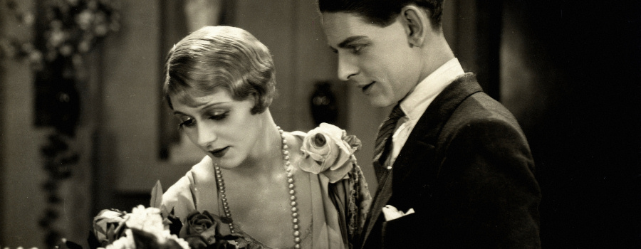 "Isabel Jeans and Robin Irvine in ""Easy Virtue"""