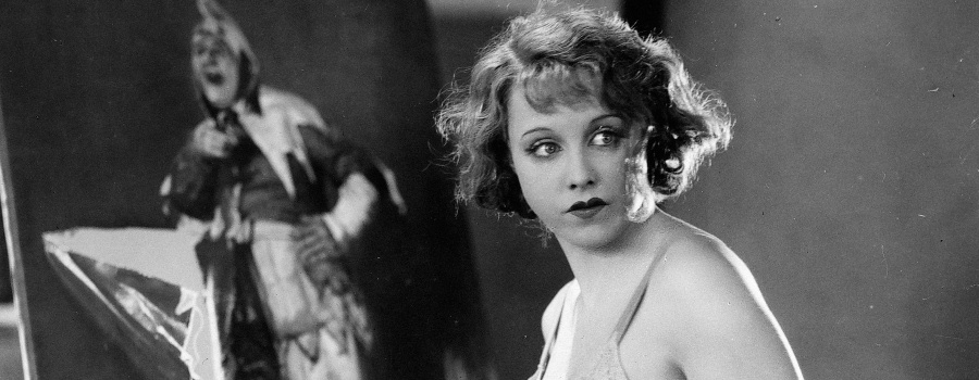 "Anny Ondra in ""Blackmail"""