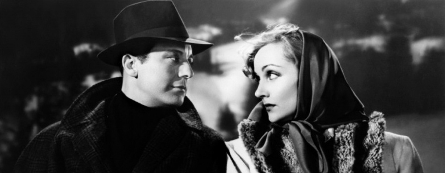 "Gene Raymond and Carole Lombard in ""Mr and Mrs Smith"""