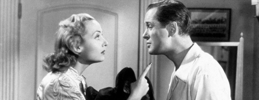 "Carole Lombard and Robert Montgomery in ""Mr and Mrs Smith"""
