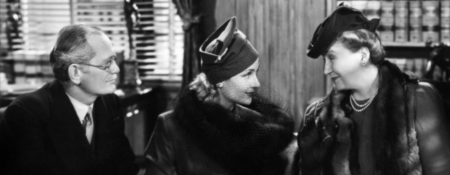 "Philip Merival, Carole Lombard and Lucile Watson in ""Mr and Mrs Smith"""