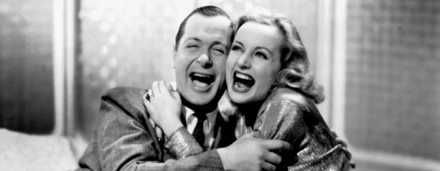 "Robert Montgomery and Carole Lombard in ""Mr and Mrs Smith"""