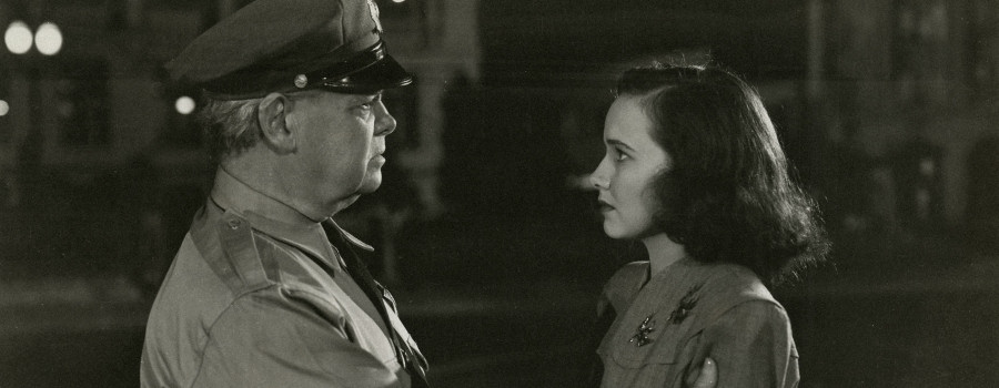 "Earle S Dewey and Teresa Wright in ""Shadow of a Doubt"""