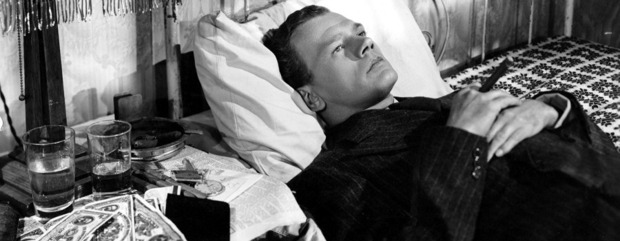 "Joseph Cotten in ""Shadow of a Doubt"""
