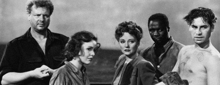"Publicity still for ""Lifeboat"""
