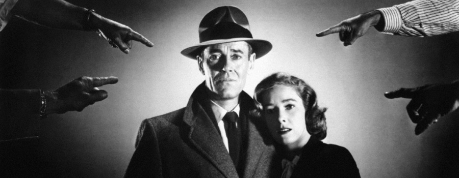 "Publicity still for ""The Wrong Man"""