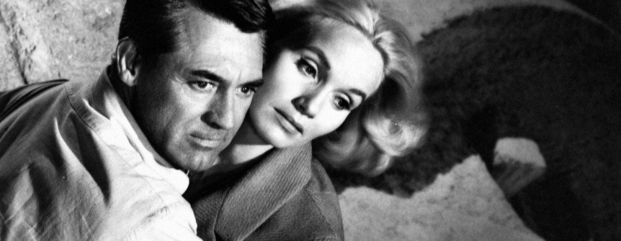 "Cary Grant and Eva Marie Saint in ""North by Northwest"""