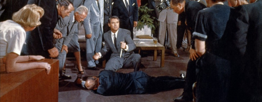 "Cary Grant in ""North by Northwest"""