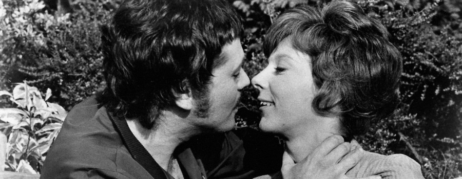 "John Finch and Anna Massey in ""Frenzy"""