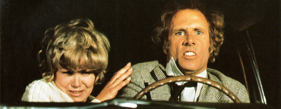 "Bruce Dern and Barbara Harris in ""Family Plot"""