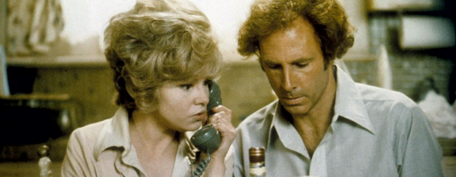 "Barbara Harris and Bruce Dern in ""Family Plot"""