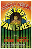 THE LADY VANISHES (1938) - POSTER - Gaumont one sheet poster for ''The Lady Vanishes'' (1938).