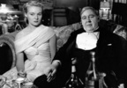 The Paradine Case (1947) - photograph - Photograph of Ann Todd and Charles Laughton in ''The Paradine Case''.