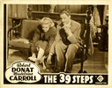 THE 39 STEPS (1935) - LOBBY CARD (SET 1) - Lobby card for ''The 39 Steps''.