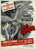 Rope (1948) - poster -