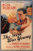 YOUNG AND INNOCENT (1937) - POSTER - US publicity poster for ''Young and Innocent'' (1937).