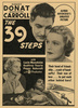 THE 39 STEPS (1935) - ADVERT - Advert for ''The 39 Steps''.