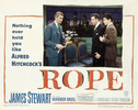 ROPE (1948) - LOBBY CARD - Lobby card for ''Rope''.