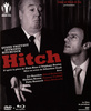 ''Hitch'' - by Alain Riou and St�phane Boulan - Front cover of the Blu-ray/DVD release of Alain Riou and St�phane Boulan's stage play ''Hitch: When Truffaut Confronted Hitchcock''.