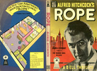 Rope (1948) - novel adaptation - Cover of ''Alfred Hitchcock's Rope (book)|Alfred Hitchcock's Rope'', a ''mapback'' Dell paperback released at the same time as the film.