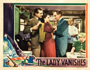 THE LADY VANISHES (1938) - LOBBY CARD (SET 1) - US lobby card for ''The Lady Vanishes'' (1938).