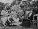 Family photograph taken in the early 1930s and reproduced in ''Hitchcock: Piece by Piece''. L-R: Emma Jane Hitchcock, unknown man, Patricia Hitchcock, Alma Reville, Ellen Marcella Lee (next to Patricia), Alfred Hitchcock, unknown man and woman. The elderly man is not Alma's father, Matthew Edward Reville, as he died in May 1928. The unknown woman is captioned as being Hitch's sister Ellen Kathleen, but the woman does not resemble descriptions of her.