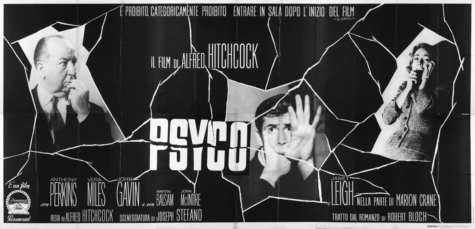 Image result for psycho 1960 poster