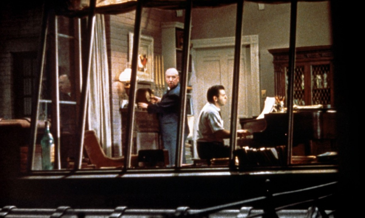 rear window by alfred hitchcock essay Rear window relationships in 1954 alfred hitchcock released rear window, a film about a famous photographer stuck in a wheelchair due to an accident suffered while on the job.