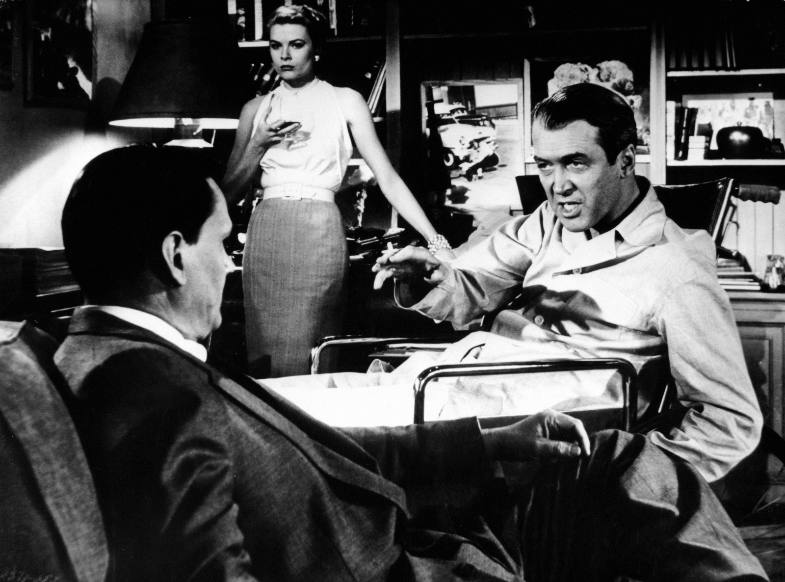 alfred hitchcocks rear window essay A brief essay on the use of optical pov shots in alfred hitchcock's rear window.