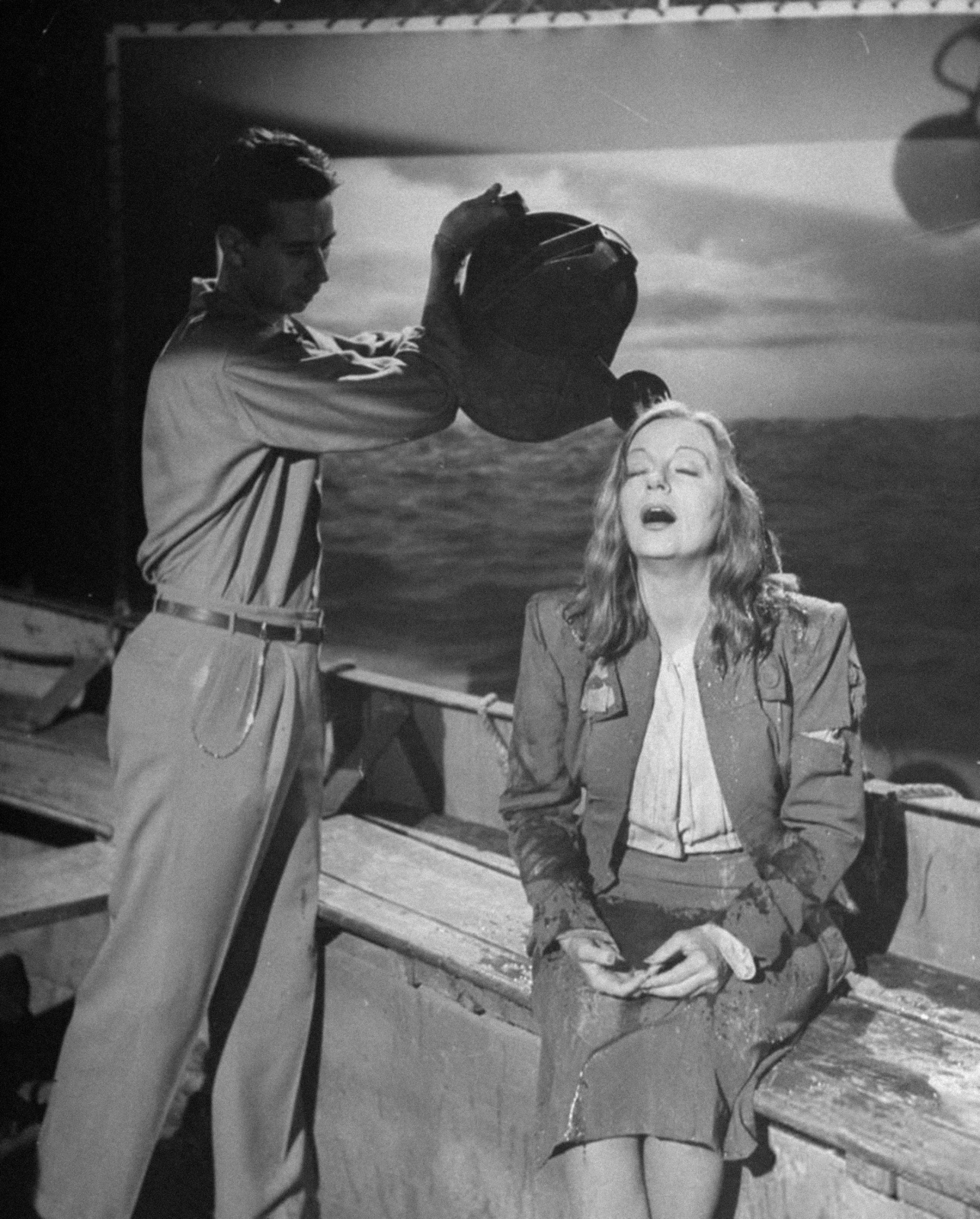 Image Result For Lifeboat Alfred Hitchcock