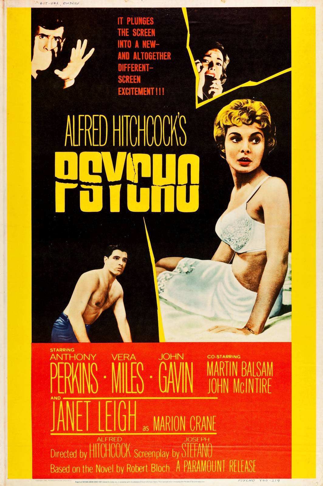 an analysis of psycho a film by alfred hitchcock Alfred hitchcock was a master showman, but wait until you hear how he tricked the audience into seeing psycho back in 1960 the shower scene is also psycho's centerpiece, and hitchcock knew that missing the first chunk of the film would result in poor word of mouth, or maybe even a complete.