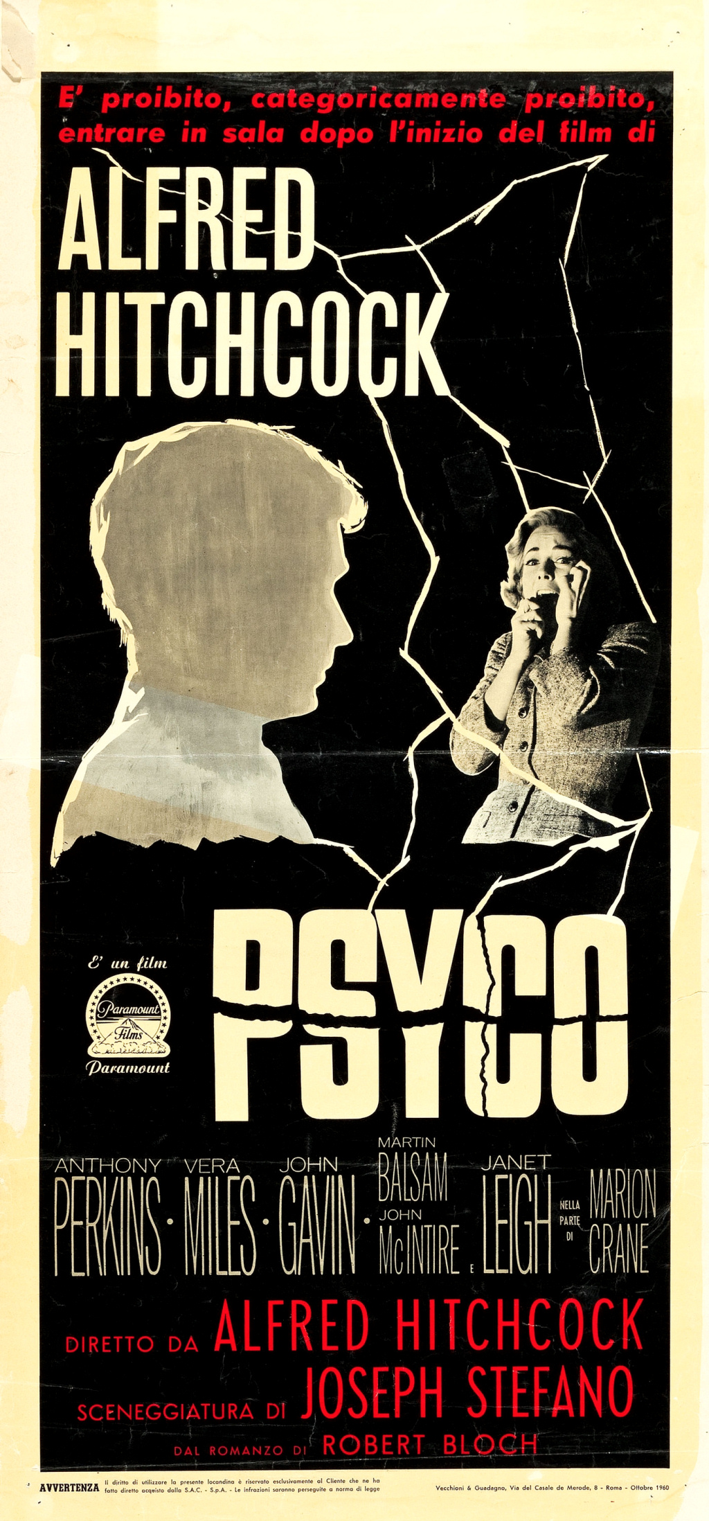 Psycho (1960) - publicity material - The Alfred Hitchcock Wiki